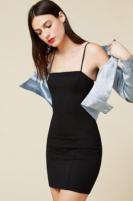 Definitely not the bodycon you're used to. Reformation Crawford Dress, $98 $59, available at Reformation. #refinery29 http://www.refinery29.com/2016/08/119320/reformation-clothing-summer-sale-2016#slide-12