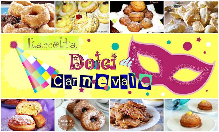 Dolci di Carnevale | raccolta dolci fritti e non