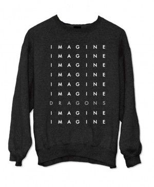 Imagine Dragons Stacked Logo T-Shirt | Imagine Dragons
