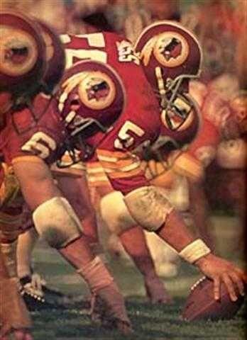 Rare Washington Redskins Art Print