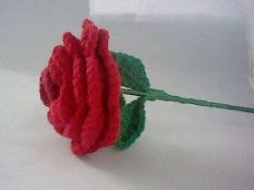 Free crochet rose pattern                                                                                                                                                                                 More