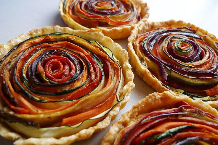 Восхитительный тосканский овощной пирог
