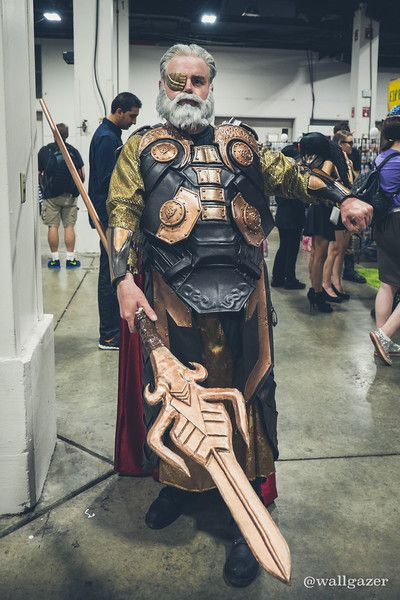 Odin #Thor #MARVEL #Cosplay at Boston Comic Con 2015 - Tom DeRosa