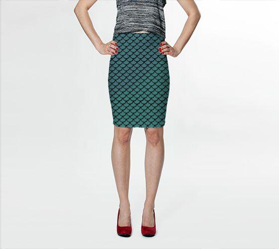 Mermaid Bodycon Skirt - Available Here: http://artofwhere.com/shop/product/40672