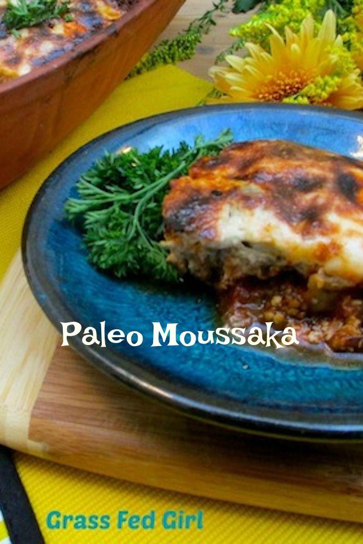 Paleo Moussaka - Mediterranean Paleo