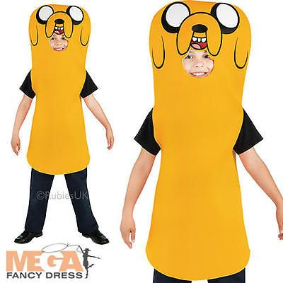Jake the dog boys adventure time #fancy dress kids finn #brother #childs costume,  View more on the LINK: 	http://www.zeppy.io/product/gb/2/111433636062/