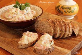 Vlašský salát na chlebíčky