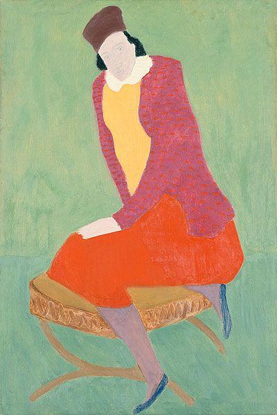 Milton Avery (American, 1885-1965) Artist's Wife, 1930