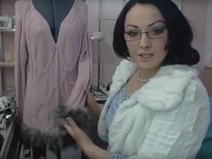 Эксклюзивная меховая пряжа своими руками
