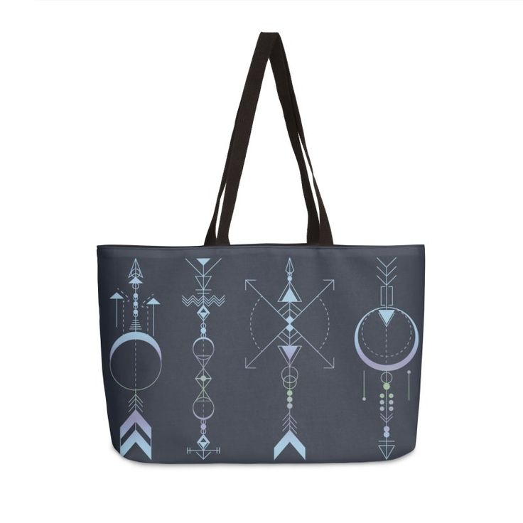Geometric Arrows - Native American Sioux by #Beatrizxe   #threadless #bag #tote #toteBag Illustration of four geometric arrows inspired in the symbol of the four medicine arrows. North is knowledge, south is innocence, east is prudence and west is introspection (see within oneself) #arrow #arrows #geometry #geometric #geometrical #tattoo #indian #native #american #sioux #armony #north #south #east #west #knowledge #innocence #prudence #introspection #vector #time #abstract #carpediem