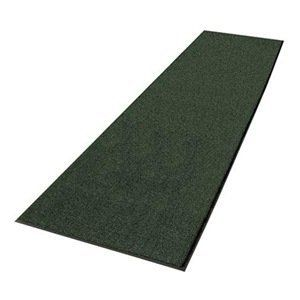 "Entrance Mat, 3 x 10 Ft., Hunter Green by Notrax. $202.05. Heavy-Traffic Entrance MattingUse Boulevard and Uptown together as an upscale scrape and dry entrance matting system. Heavyweight vinyl-backed mats ensure minimum movement while protecting floors. Beveled edge on 4 sides minimize tripping. 3/8"" thick.UptownHigh-low looped pile design of 40 oz. tufted Decalon yarn provides moisture absorption and crush resistance.Entrance Mat, Size 3 x 10 Ft., Thickness 3/8 In., C..."