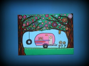 Vintage Caravan of Dreams    Vintage Caravan of Dreams  Artist: Wright, Jennifer
