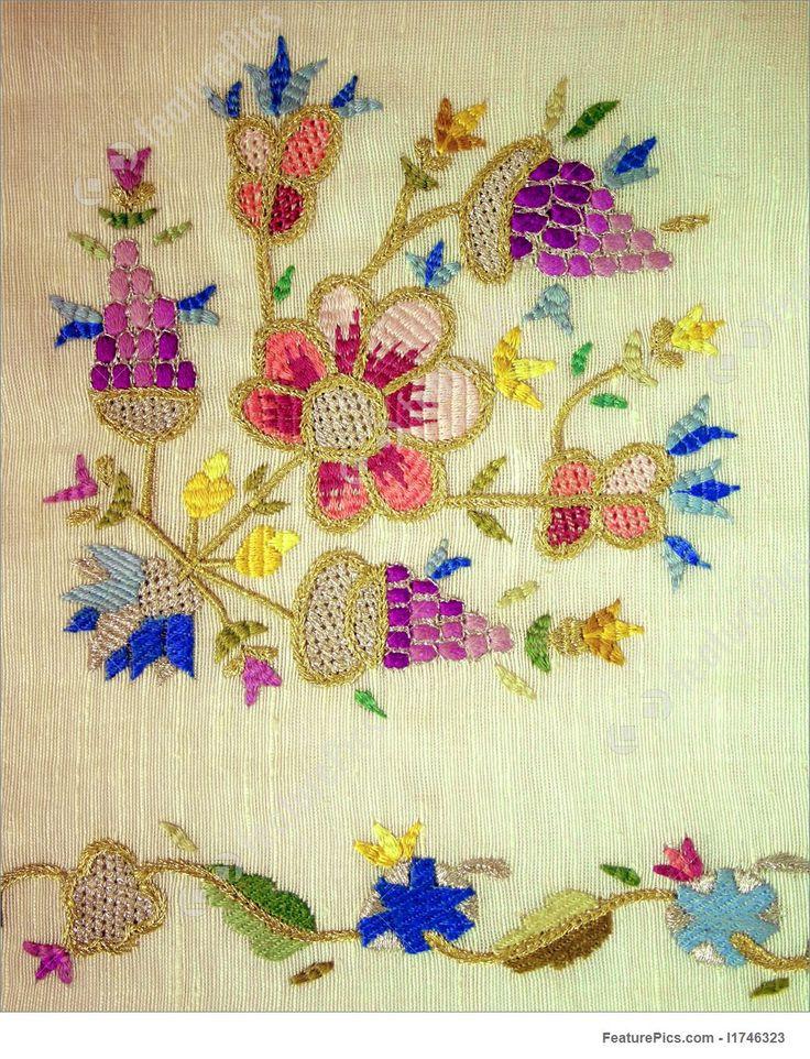 A turkish motif at needlework