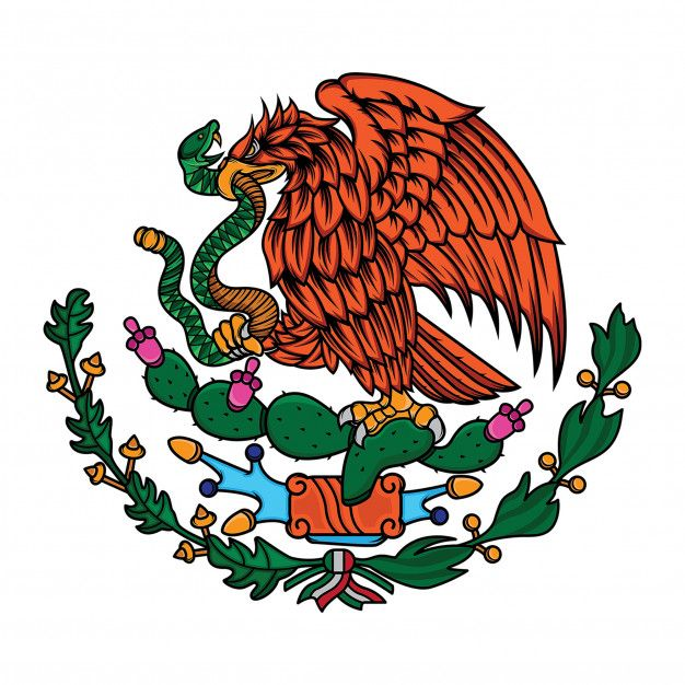 Mexico Flag The Eagle And Snake Mexican Flag Eagle Mexico Flag Mexican Flag Tattoos