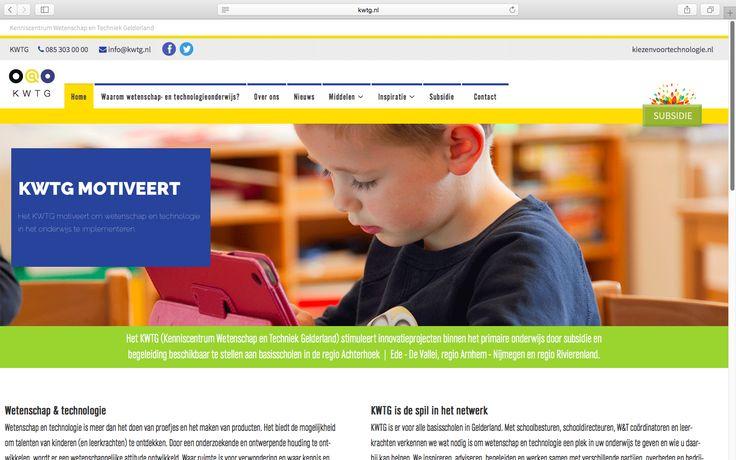 Logisch! heeft de website van KWTG vernieuwd!