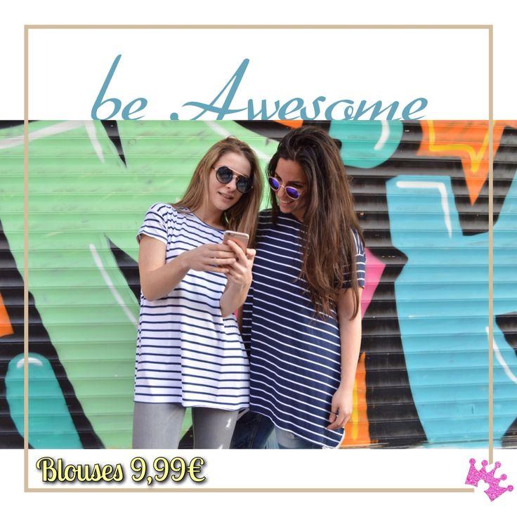Μπλούζα άνετη ριγέ one size στα 9,99€ Διαθέσιμη και μονόχρωμη σε μαύρο και σε άσπρο. Γυαλιά απο 5,99€ -->http://bit.ly/1TNM34L #crislia #girls #newcollection #shoponline #stripes #love #casual #day #smile #outfits #happy #spring #2016  Κάνε την παραγγελία σου : •με μήνυμα inbox •τηλεφωνικά στο 210-5223012 Καθημερινές 10:00-18:00!  www.crislia.com  Μεταφορικά με αντικαταβολή 4,90€ Δυνατότητα κατάθεσης σε τραπεζικό λογαριασμό με έξοδα αποστολής 3,90€ Δωρεάν αποστολές για αγορές ανω των 70€!