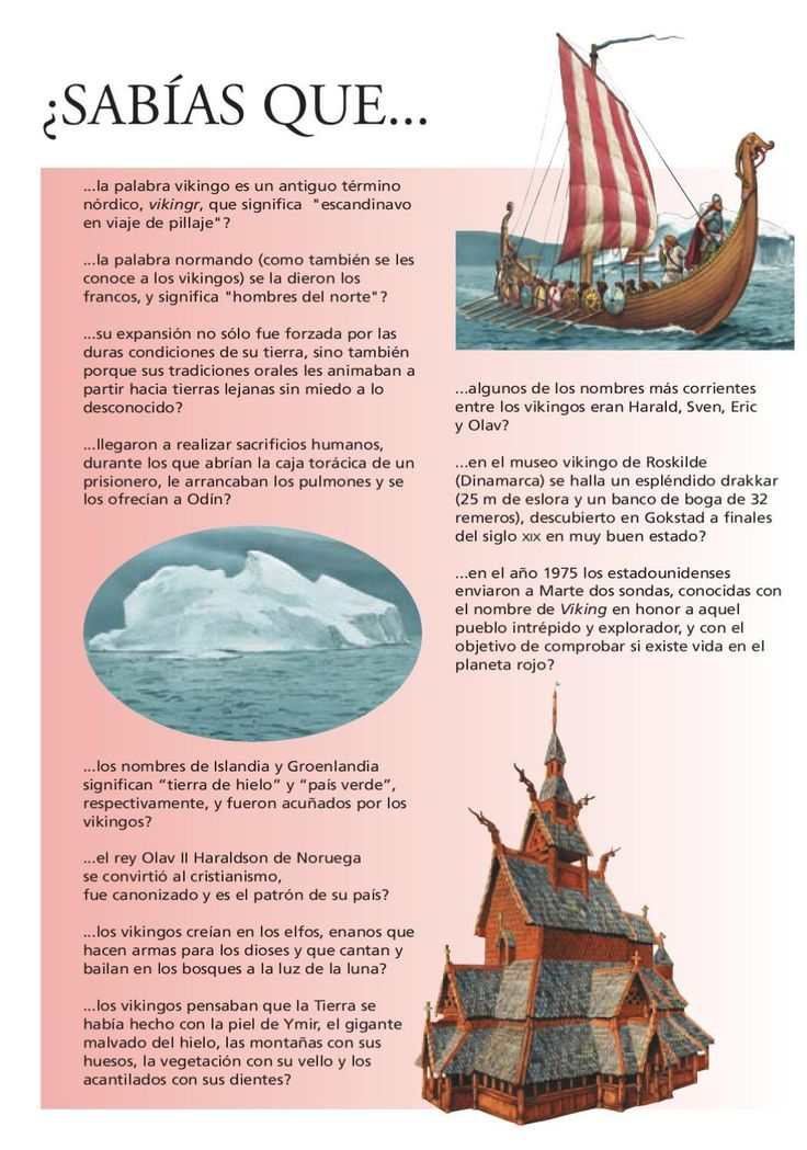 Los vikingos                                                                                                                                                                                 Más