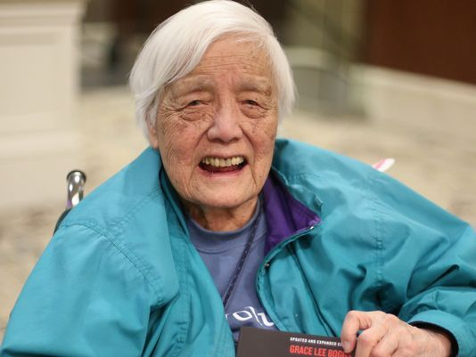 """Grace Lee Boggs """"I am coming to the end of a long journey…"""" 99 year-old activist has been in hospice care at her Detroit home…."""