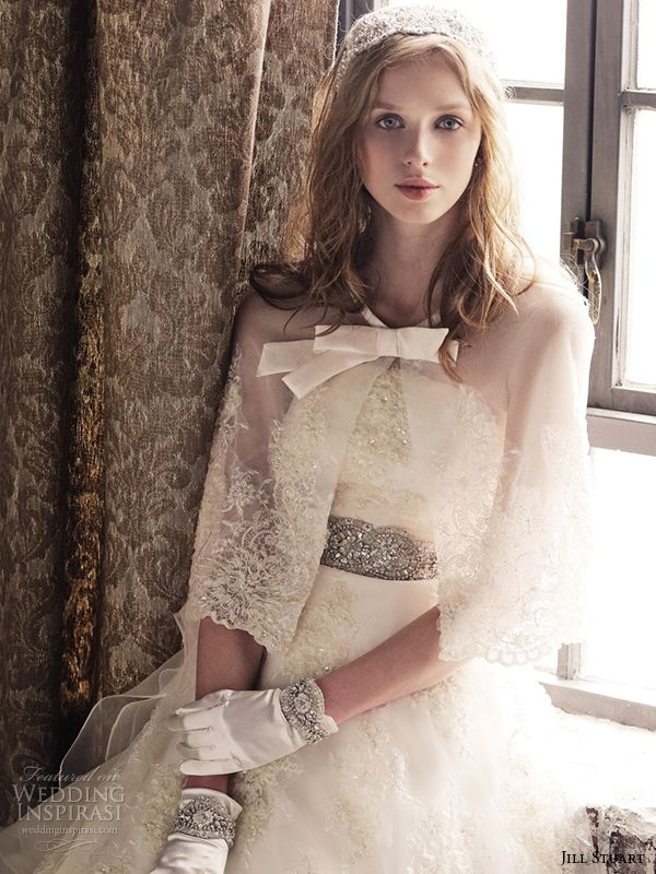 http://www.weddinginspirasi.com/2014/06/20/jill-stuart-wedding-dresses-eleventh-bridal-collection/ jill stuart 2014 #wedding dress 11th collection 0161 off white #weddings #weddingdress