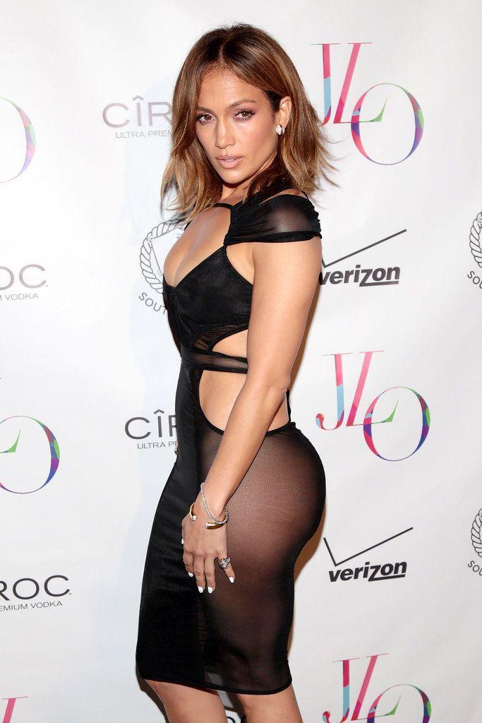 Jennifer Lopez stunned at her birthday party.