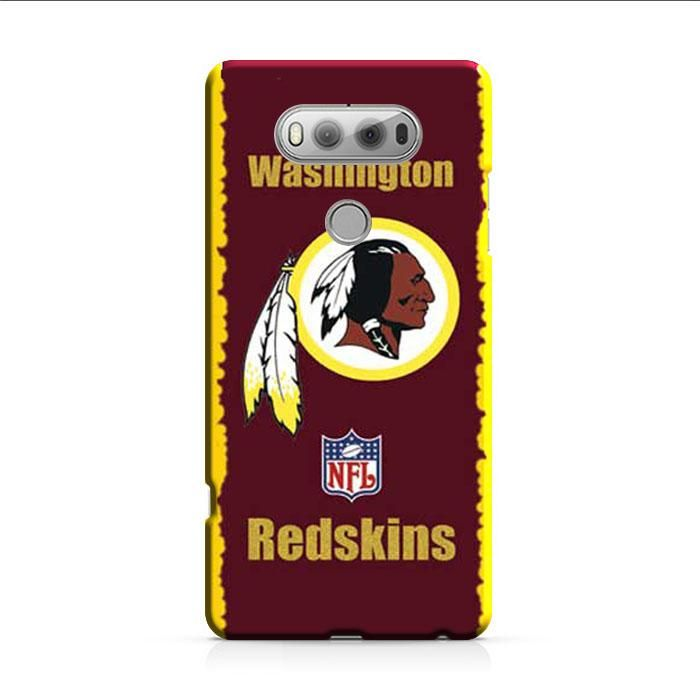 Washington Redskins Logo Yellow Red LG V30 3D Case