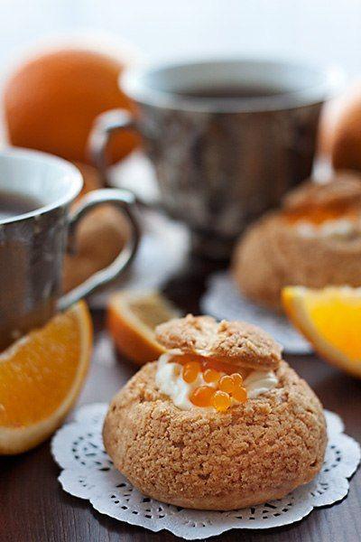 Замечательные пирожные: апельсиновые шу