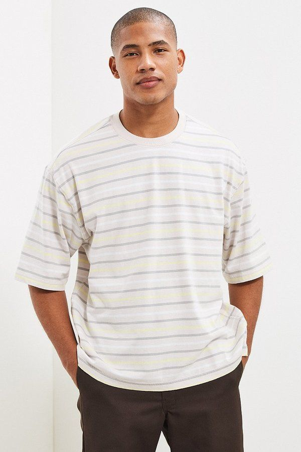 Urban Outfitters Striped Oversized Tee
