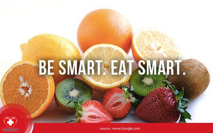 Mulailah hari baik dg memilih makanan sehat secara bijak! Be smart, Eat smart! Happy Monday, UDoctorians! :)
