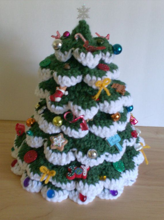 crochet Christmas trees                                                                                                                                                                                 More