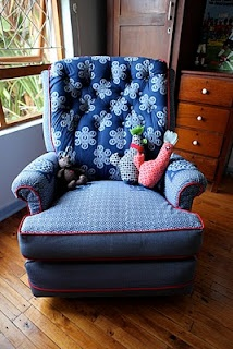 Another beauty of a chair with Shwe Shwe