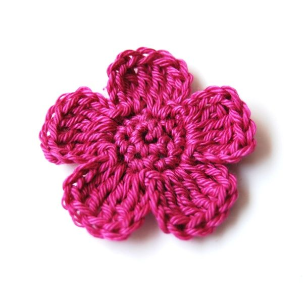 Bloem haken | EchtstudioCrochet Flowers, Bloemetjes Haken, Crochet Crafts, Bloem Haken, Crochet Flower Patterns, Crochet Diy, Crafts Diy, Crochet Flower Tutorial, Crochet Knits