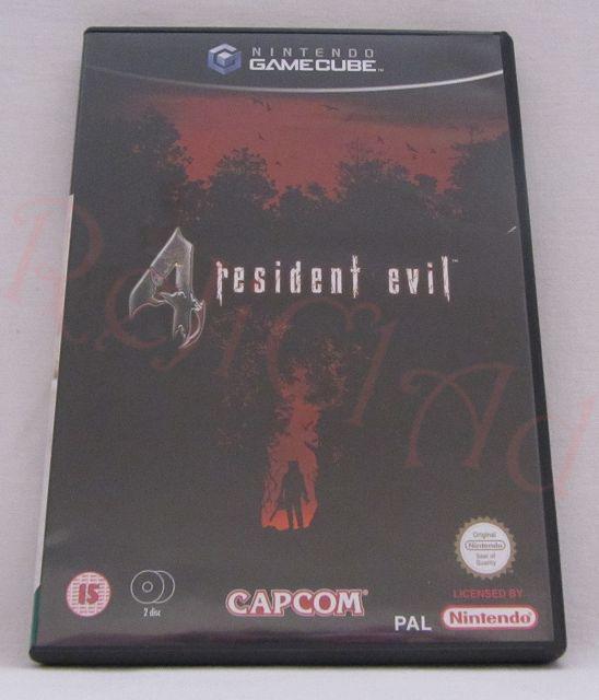 Resident Evil 4 GC game
