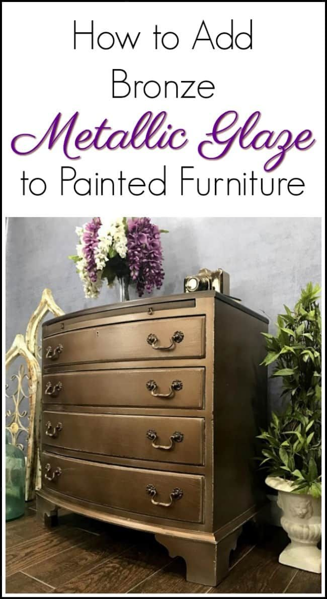 186 Best Metallic Paint Furniture Images On Pinterest Metallic Paint Paint Furniture And