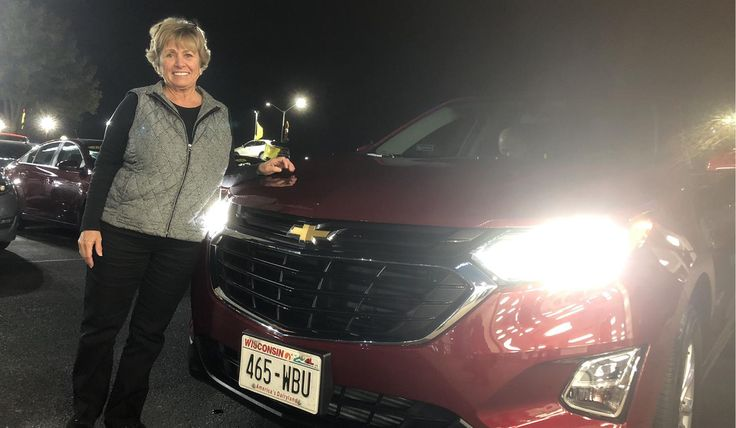 Congratulations and Best Wishes Lylace on the purchase of your 2018 CHEVROLET EQUINOX!  We sincerely appreciate your business, Kunes Country Chevrolet Cadillac of Delavan and JOHNNY FERNANDEZ.