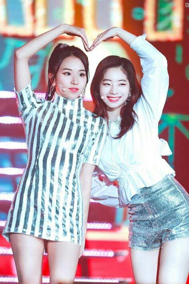Chaeyoung&Dahyun 171225 SBS Gayo Daejeon