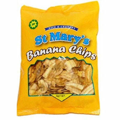 Great snack- St. Mary's Banana chips | Welcome Bag ideas ...