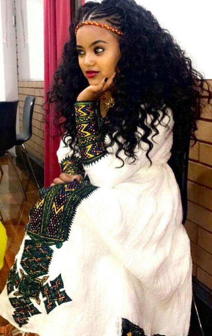45 Best Images About Habesha Dress On Pinterest