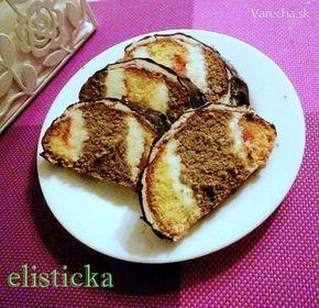 Metrový koláč bezlepkový dvojfarebný (fotorecept)