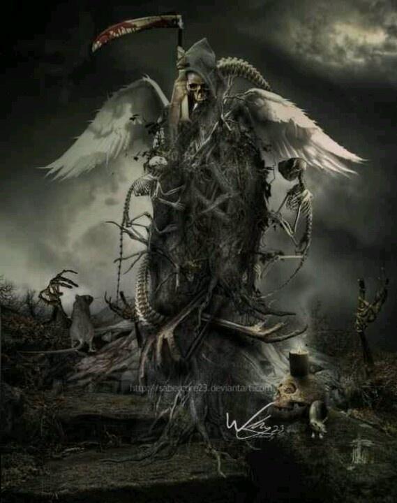 Grim Reaper angel                                                                                                                                                      Mehr