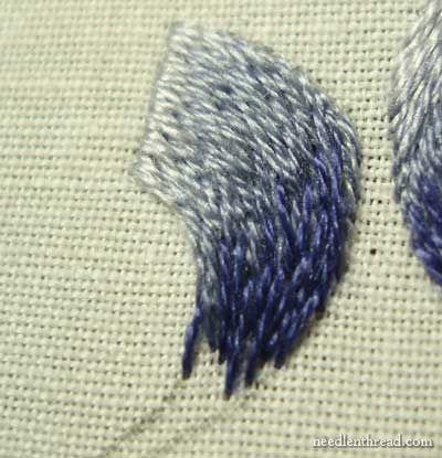 Best 25 long and short stitch ideas on pinterest satin for Hand thread painting tutorial