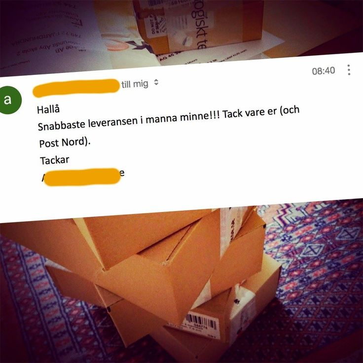 Roligt mail att få! Vi passar på att skicka en sommarhälsning till de underbara lantbrevbärarna som hämtar våra paket varje dag!  #postnord #ekologisktte