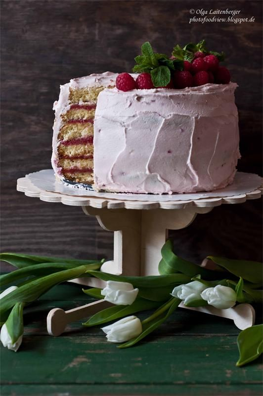 Малиновый муссовый торт рецепт пошагово 71