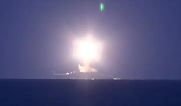 Russia Navy fire 26x 3M14 Kalibr cruise missile from 4 surface ships in Caspian Sea against 11 targets in Syria 3