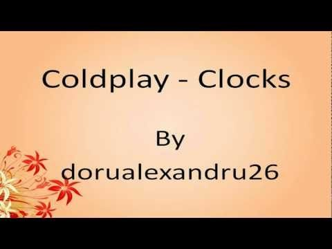 Coldplay - Clocks Lyrics