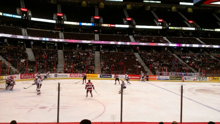Ottawa 67s vs Peterborough Petes at Scotiabank Centre #ohl