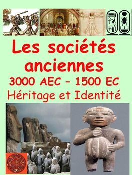 "French Immersion, Grade 4 Social StudiesIntegrate this resource in your social studies unit about ""Les socits anciennes 3000BCE-1500CE"" with accurate information at the reading level of your French Immersion students!This resource is intended to develop the vocabulary and content about the Ancient Civilizations unit in French, support the understanding  and impact of ancient societies and provide  students with some activities they will enjoy completing.Learn in French the essential…"