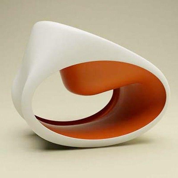 Fauteuil Sculpture MT3. L'univers artistique de Ron Arad dans ... sorsluxe.com interiors design art furniture