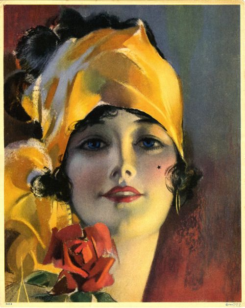 Lovely Late 1920s Pin Up By Rolf Armstrong Pin Up Girls