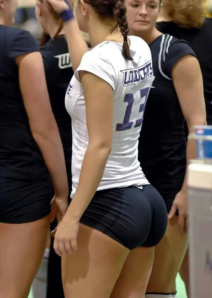 Pussy in volley ball shorts