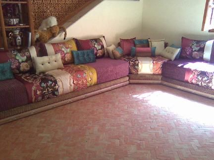 Salon Marocain Moroccan Sofa Pinterest Diy And